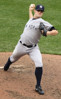 New York Yankees setup man David Robertson topped Couch Side's list of the top setup men in the game for 2013. Phot by: Keith Allison / Flickr