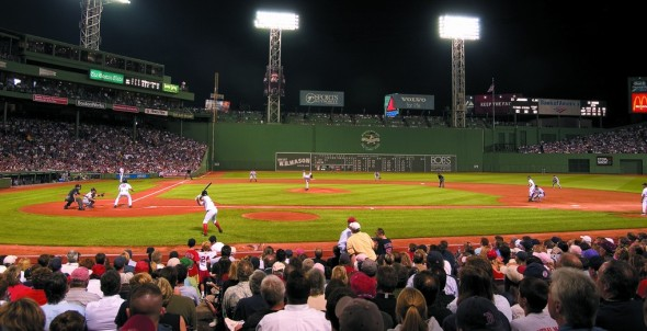 The Boston Red Sox sold out in a record 820 straight games at their famed Fenway Park. Photo by: Greater Boston Convention & Visitors Bureau