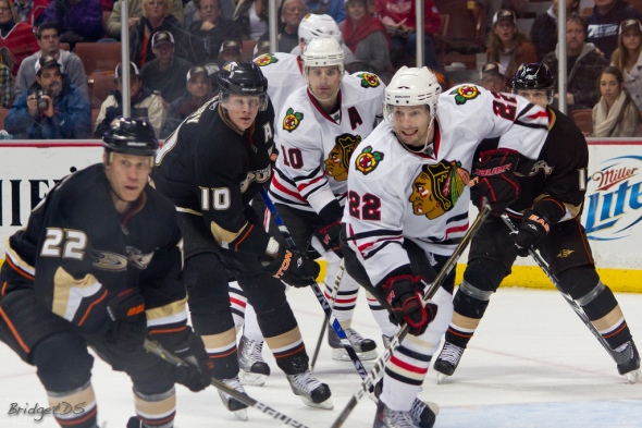 The Anaheim Ducks and Chicago Blackhawks claimed the top two seeds in the Western Conference for the Stanley Cup Playoffs. Photo by: Bridget Samuels / Flickr